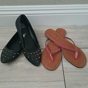 Shoes - Flats and sandal bundle